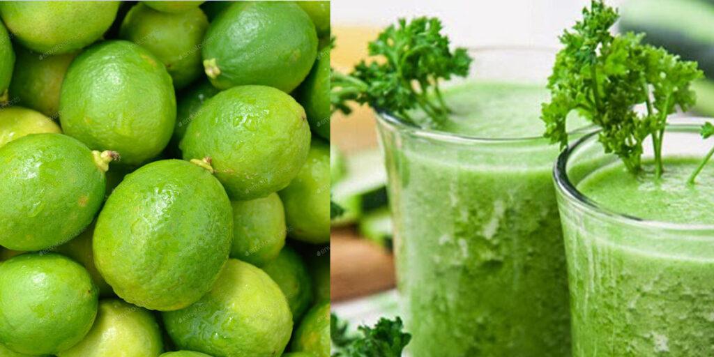 Lemon juice controls Anaemia
