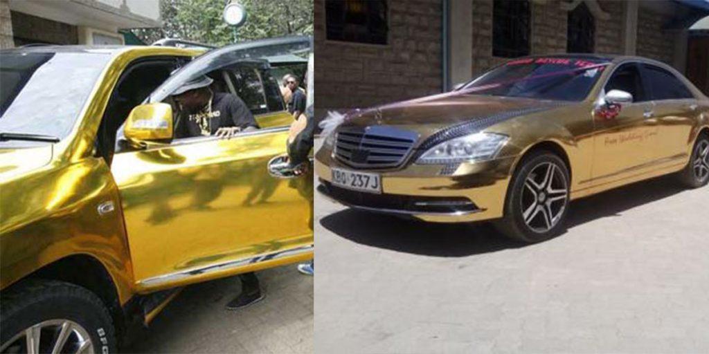 Sonko's love for golden cars