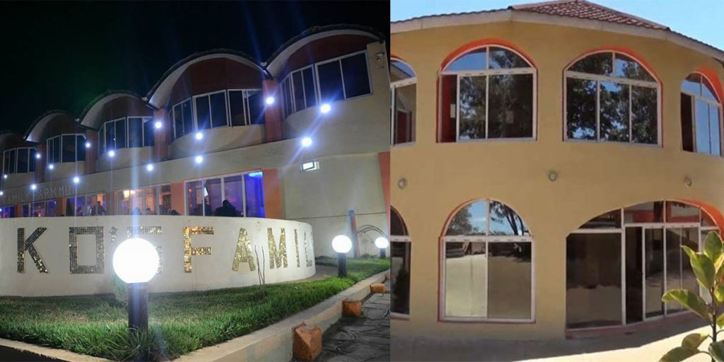 One of Sonko's mansions