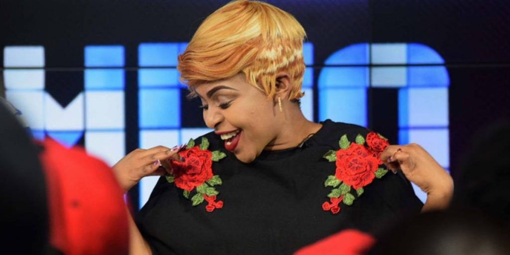 Size 8 performing on stage