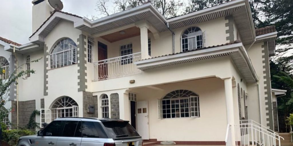 Dj Mo and Size 8's house in Lavington