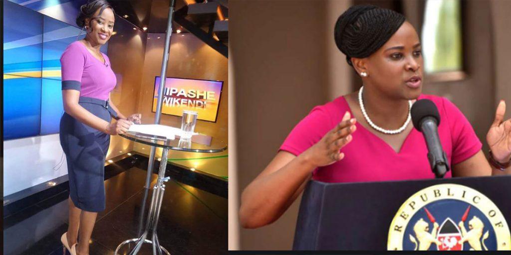 One of the best Swahili female anchors in Kenya