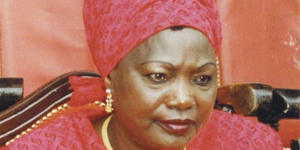 Mama Ngina Kenyatta SRC: @Citizen digital