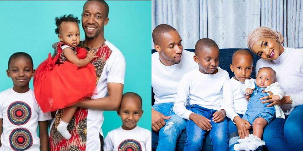 Abdalla, his wife, and their three children SRC: @Kiss 100, @Parents Magazin