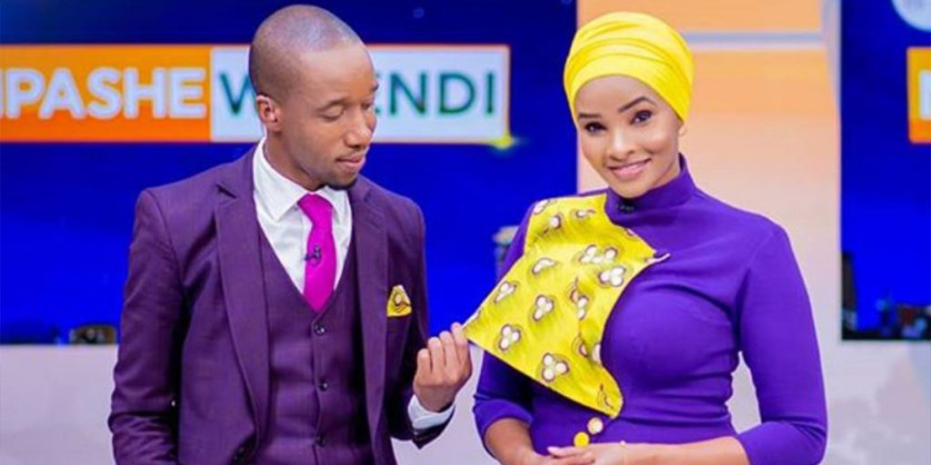 Rashid and Lulu at Citizen TV SRC: @Kitui Daylight