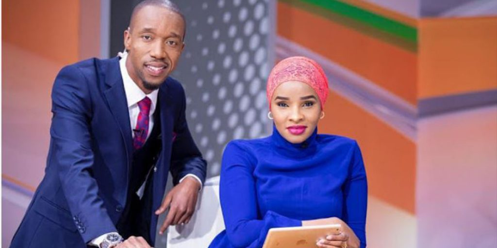 Rashid with his lovely wife SRC: @Nairobi Wire