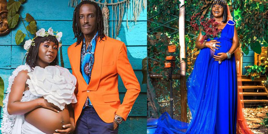 Anne Kansiime with her hubby SRC: @Sqoop, @The Standard