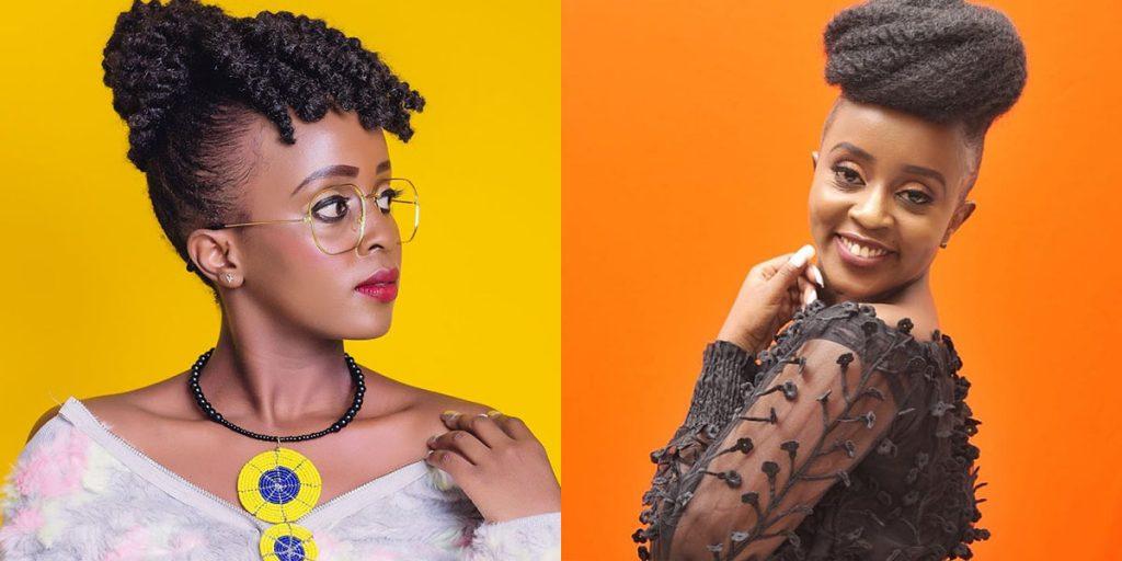 The Kenyan singer, Nadia Mukami SRC: @The Star, @Ralingo