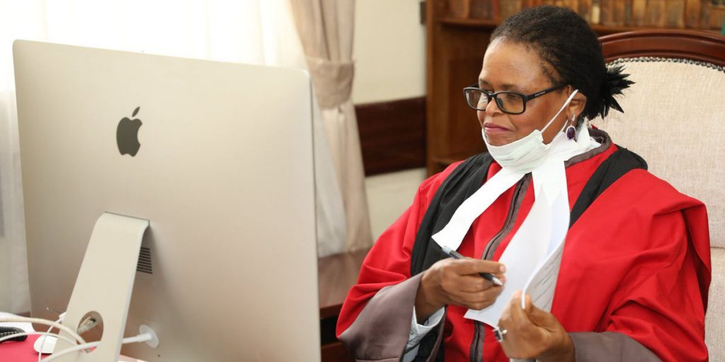 The first woman in Kenya to become a Chief Justice SRC: @Twitter