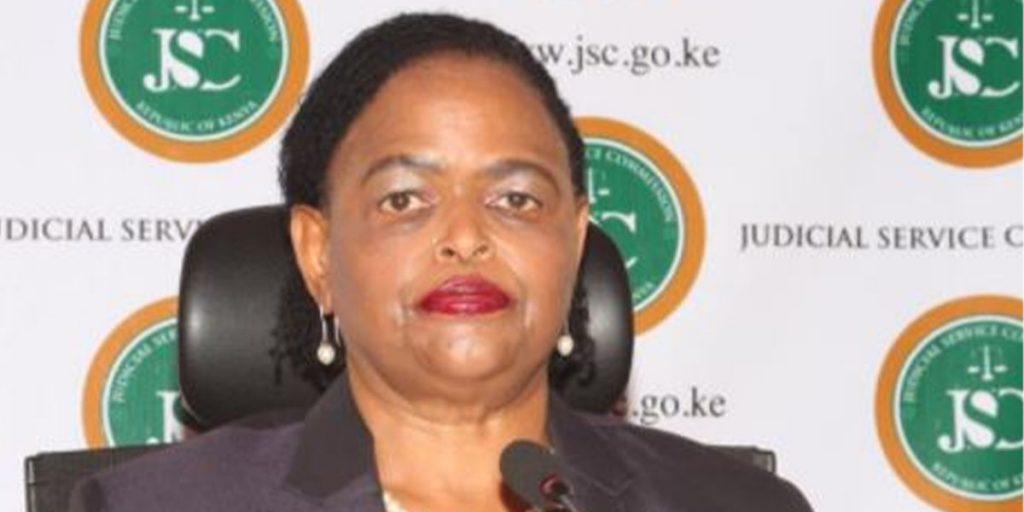Martha Karambu Koome SRC: @AReal News