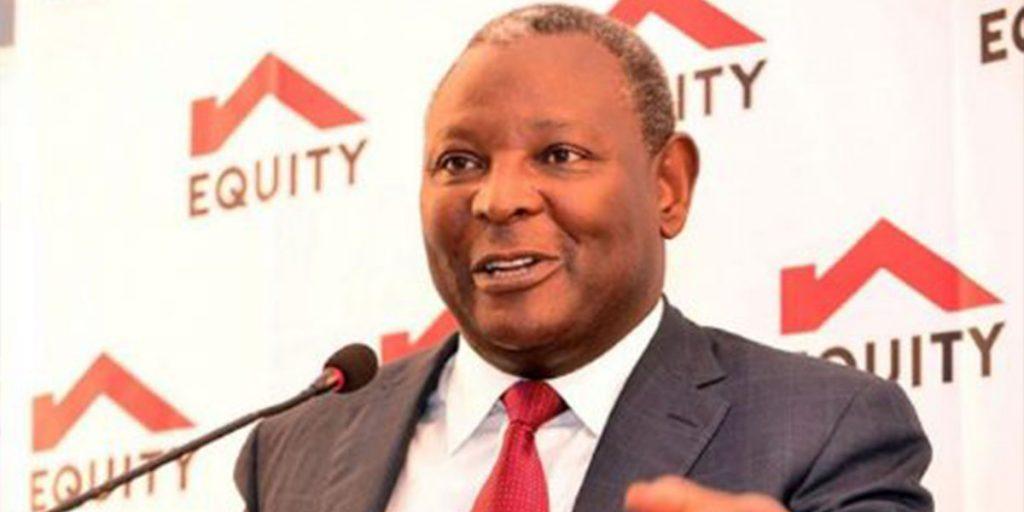 James Mwangi, Chief Executive Officer Equity SRC: @Nairobi News - Nation