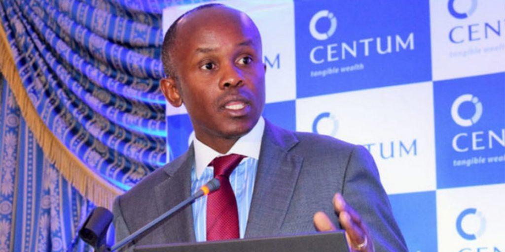 James Mworia, CEO Centum SRC: @whownskenya