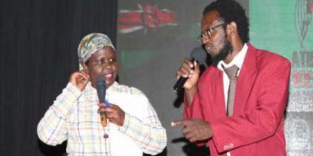Prof Hamo and Jemutai performing at Churchill Show SRC: @Africa Press