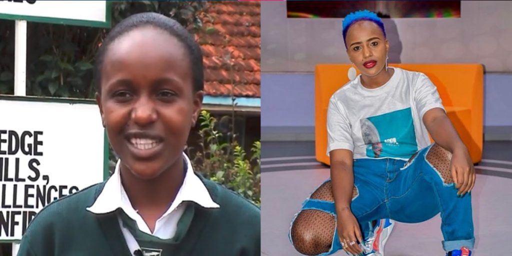 Femi while in high school and after high school SRC: @Facebook, @Opera News