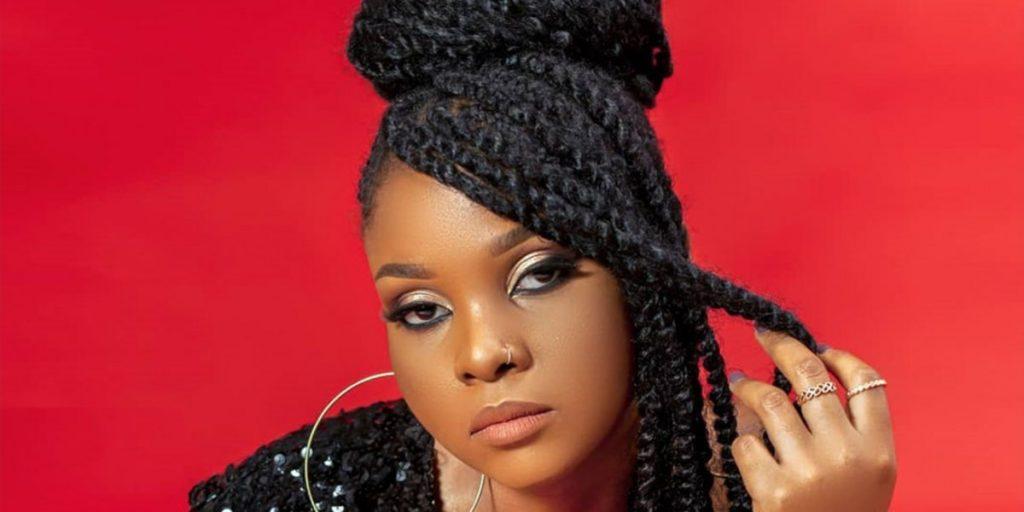 The female Bongo flava singer SRC: @Mdundo.com