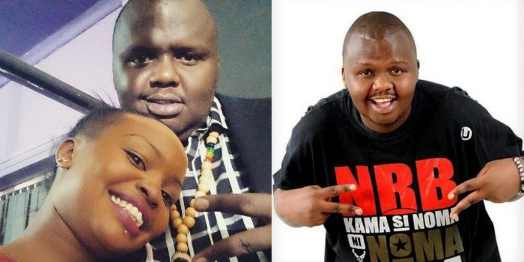 Onkonkwo with his new girlfriend SRC: @Mpasho, @Twitter