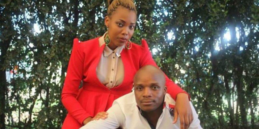 Felix with his ex-wife Chekoiyet Boiyo SRC: @Nairobi Wire