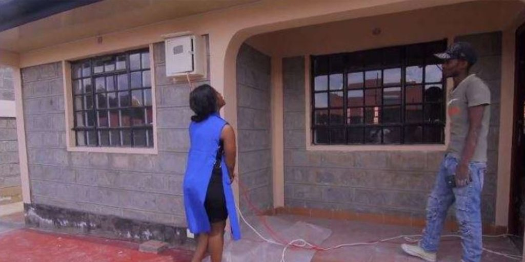 The singer's multi-million house that is under construction SRC: @Nairobi Wire