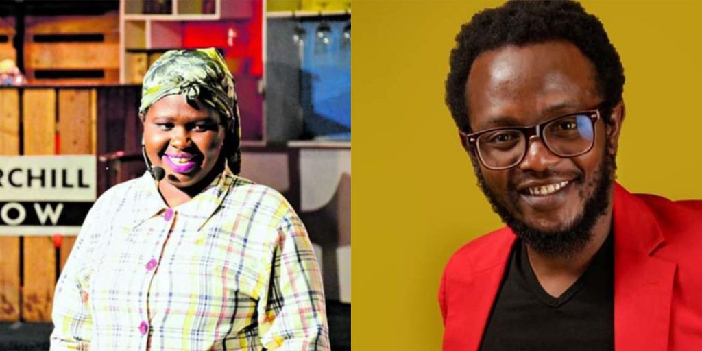 Jemu with Hamo SRC: @Nairobi Wire, @Capital News