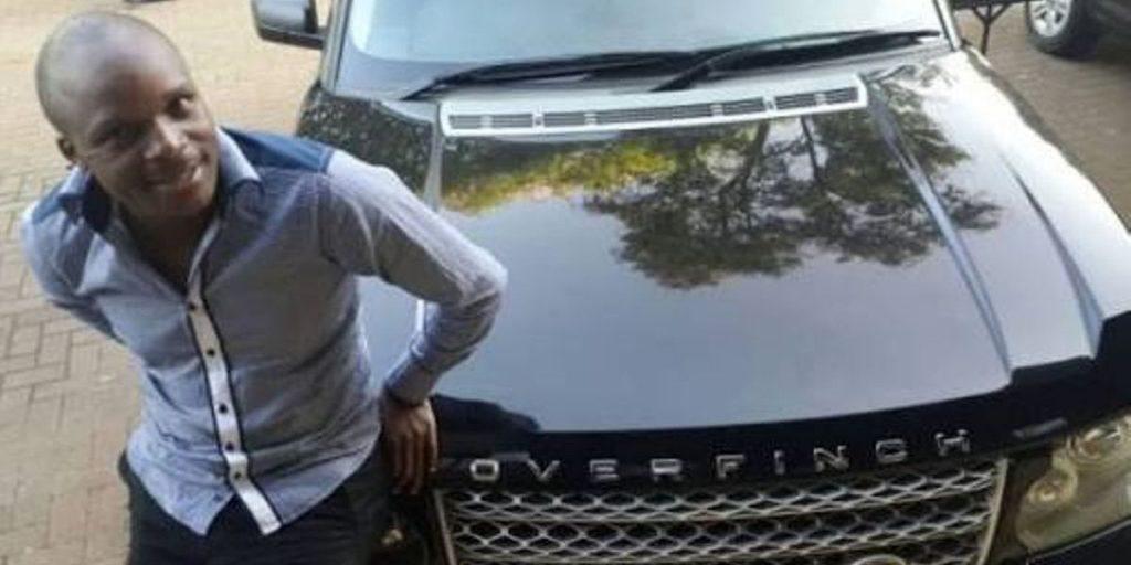 Felix standing outside his Range Rover car SRC: @Postamate