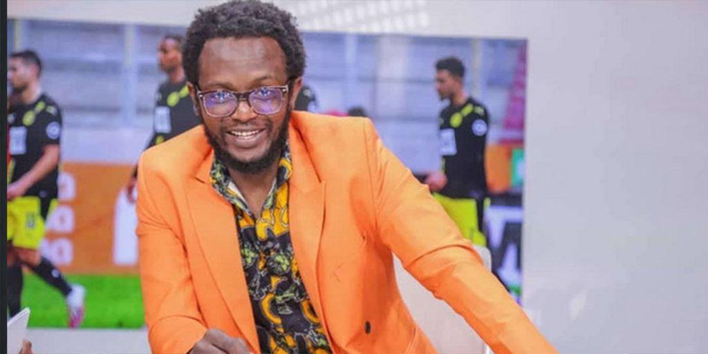 Jemutai's baby daddy, Prof Hamo SRC: @Pulselive Kenya