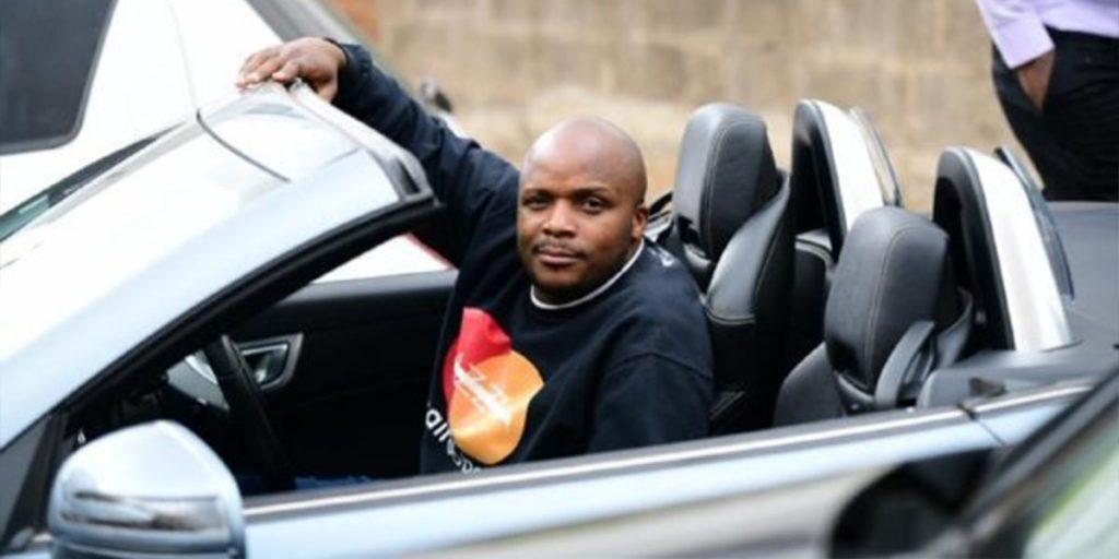 Jalas in his Mercedes Benz car SRC: @Uzalendo News