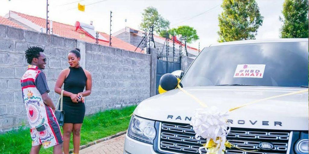 Bahati's Range Rover car SRC: @YouTube