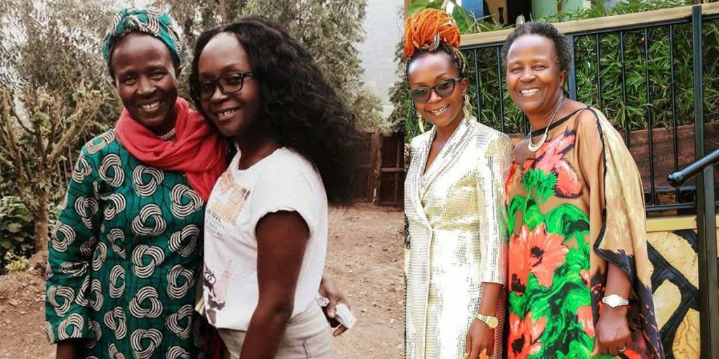 Anne Kansiime's mother SRC: @Mbu, @Daily Active