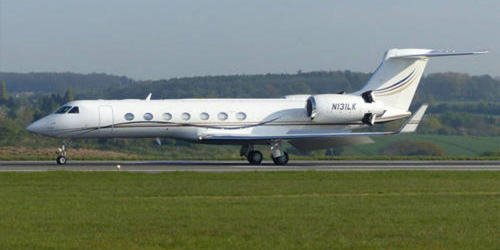 Prophet T. B Joshua's private jet SRC: @Sahara Reporters