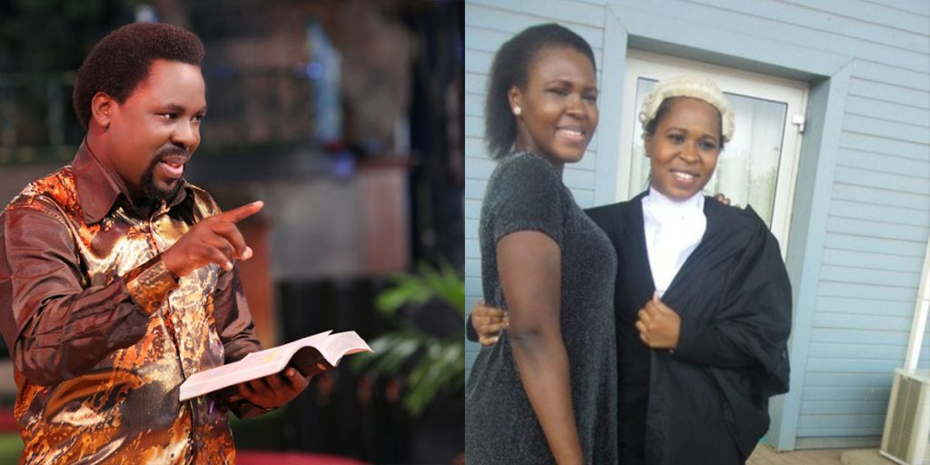 Pastor T. B Joshua with his two daughters, Serah and Promise SRC: The Citizen, @Gospel Songs Mp3