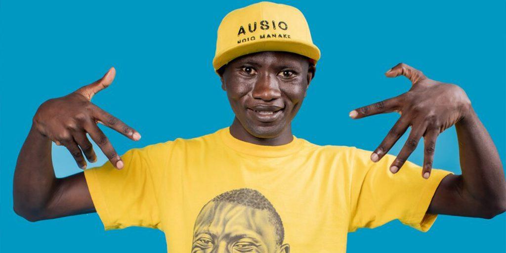 Stephen Otieno aka, Simple Boy SRC: @MADE IN KIBERA