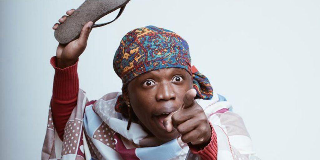Flaqo in action while acting as Mama Otis SRC: @Nairobi News - Nation