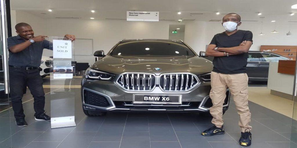 Maina's new BMW X6 SRC: @Switch TV