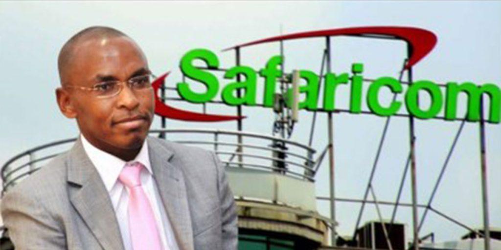 The first Kenyan to be a CEO Safaricom SRC: @Breaking News.co.ke