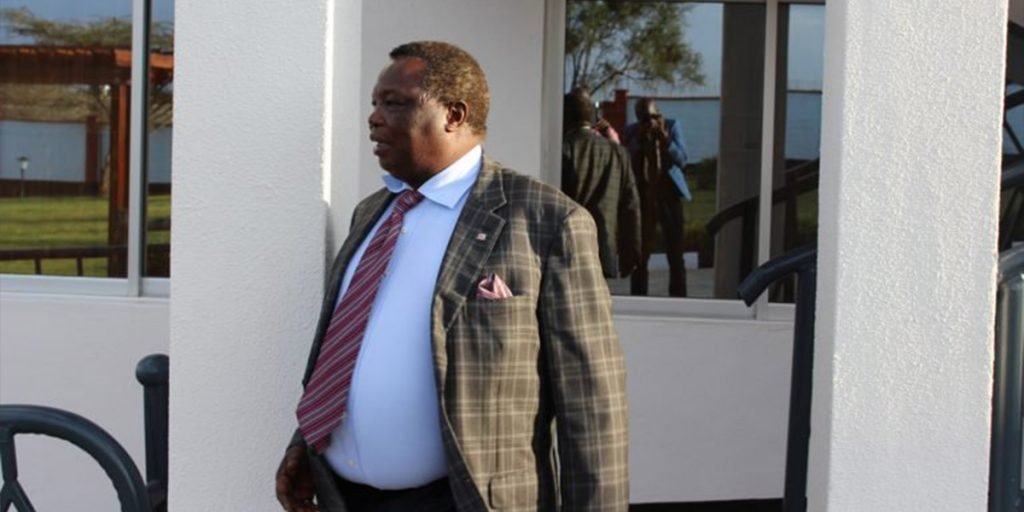 Atwoli standing outside one of his mansions SRC: @Whownskenya.com