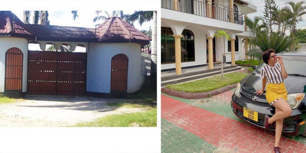 A view of Nandy's compound SRC: @Ghafla, @Facebook