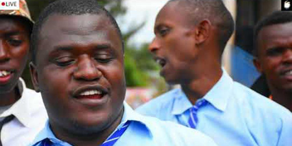 The celebrated comedian from Western Kenya SRC: @Kenya24News