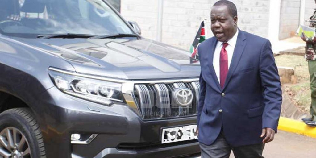 One of Matiangi's luxurious cars SRC: @The Standard