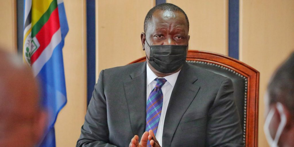 Dr. Matiangi the CS Interior SRC: @Twitter